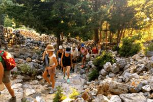 Hiking in Kos